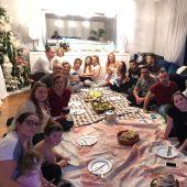 Coentrao en la cena de Navidad