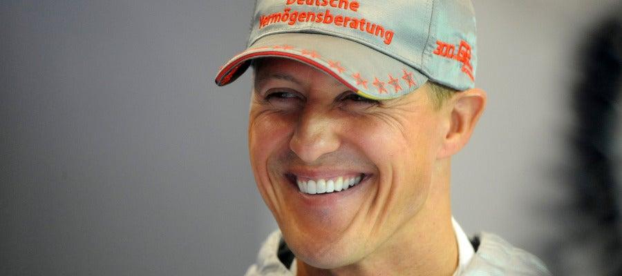 Michael Schumacher, durante un Gran Premio