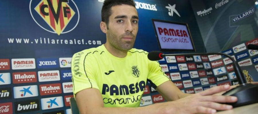 El capitán del Villarreal, Bruno Soriano