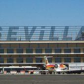 Imagen del Aeropuerto de San Pablo en Sevilla