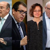 Jordi Jané, Neus Munté, Meritxell Ruiz, Jordi Baiget, Diego Pérez de los Cobos y  Albert Batlle