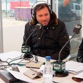 Óscar Puente, alcalde de Valladolid, con Juan Ramón Lucas