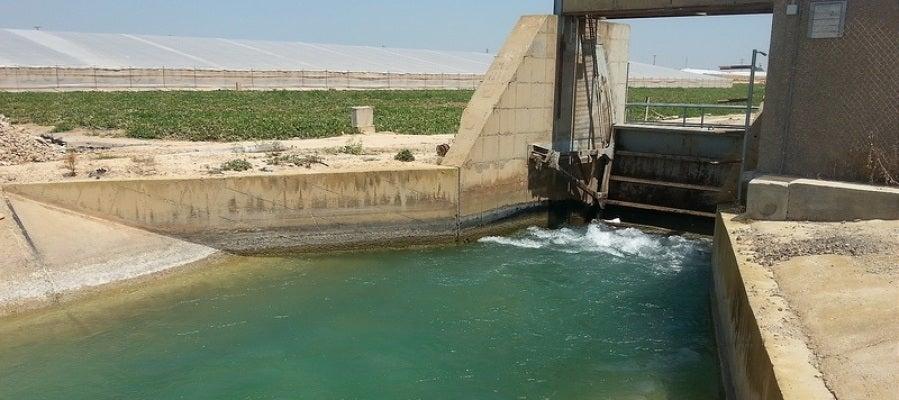 Uno de los canales del trasvase Tajo-Segura