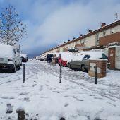 Los Santos de la Humosa nevada