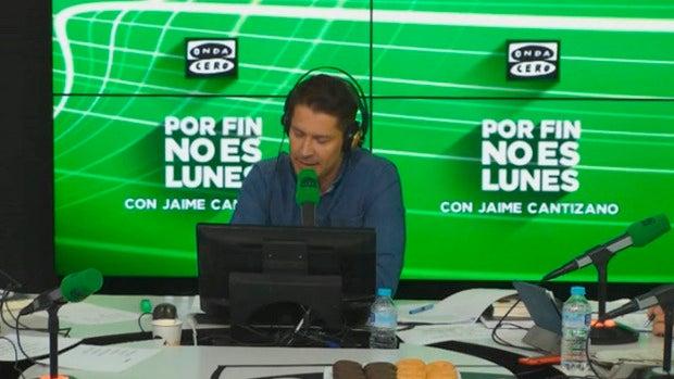 """Jaime Cantizano: """"Arrancamos 'Por fin no es lunes' con la intención de sumar"""""""