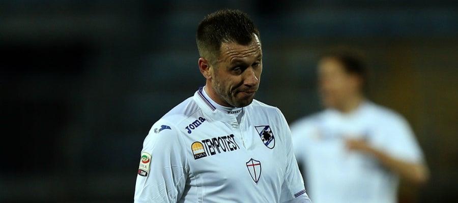 Cassano, con la Sampdoria