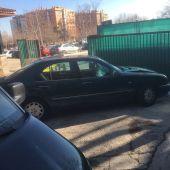 El vehículo con el que el detenido cometió el atropello