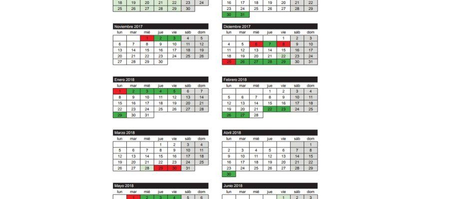 Calendario Escolar Valladolid.Calendario Escolar Y Academico 2018 En Cantabria Todos Los Festivos