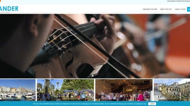 Polémica con la traducción de la página web de Turismo de Santander