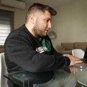 Agustín Doblado, ganador de una apuesta de 10.000 euros