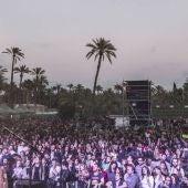 Espectadores en uno de los conciertos del 'Elche Live Musical Festival'
