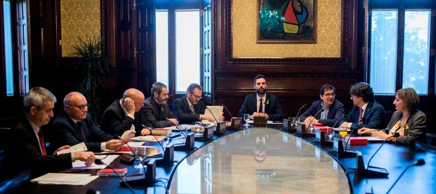 Imagen de la Mesa del Parlament