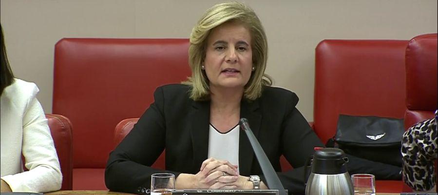 Fátima Báñez defiende que los pensionistas tienen mayor poder adquisitivo que hace diez años