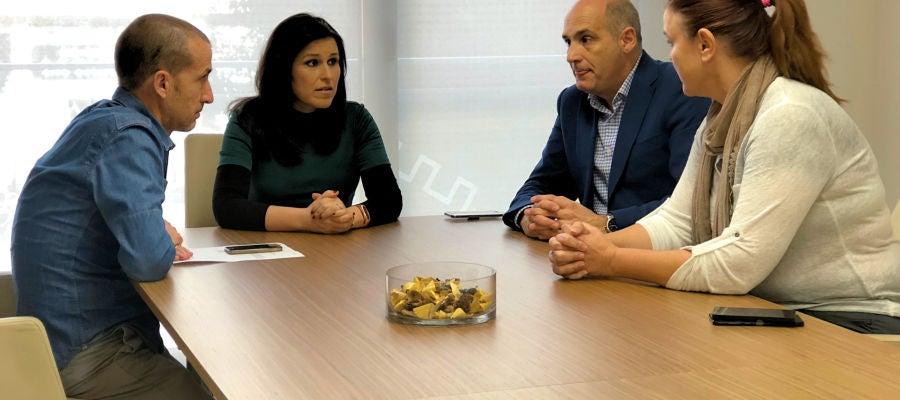 Reunión entre Facsa y el ayuntamiento de Almassora.