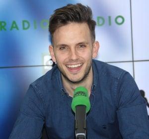 Gonzalo Palafox, en los estudios centrales de Radioestadio.
