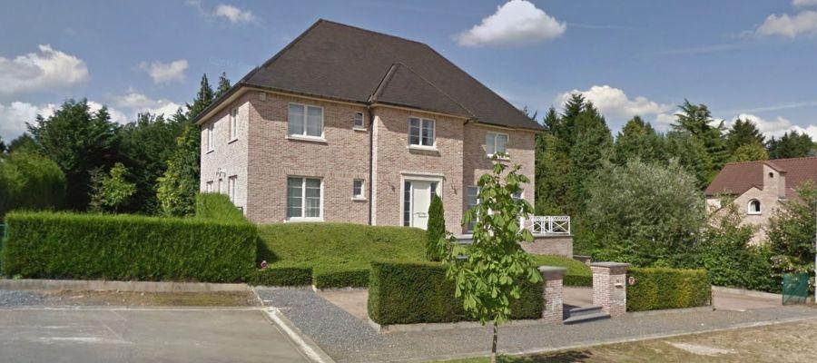 La mansión en la que se alojará Puigdemont en Waterloo