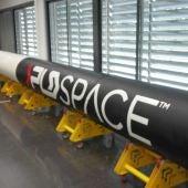 Maqueta del cohete de la compañía PLD Space