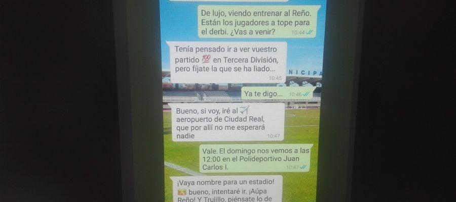 Conversación ficticia por wasap entre Trujillo y Puigdemont