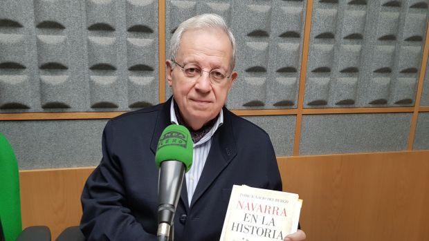 """Del Burgo: """"Eliminar la transitoria cuarta supondría eliminar la voz del pueblo navarro en una decisión vital""""."""