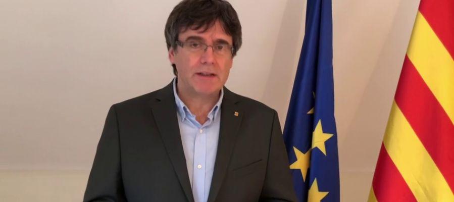 """Puigdemont: """"No desfalleceré, por más dificultades que haya"""""""