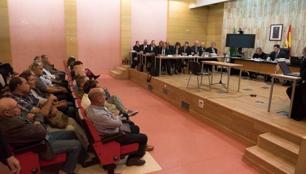 Imagen de archivo de la primera sesión del juicio por el 'caso Alhambra'
