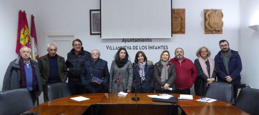 Reunión de varias asociaciones del Campo de Montiel