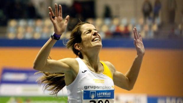 """Maitane Melero, campeona de España de los 3.000 metros: """"Nunca he tenido ayudas ni becas y por eso tengo que trabajar"""""""