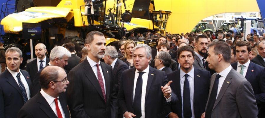 El Rey Felipe VII ha inaugurado FIMA 2018