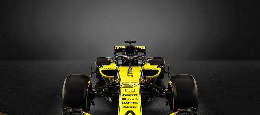 El nuevo Renault RS18 para la temporada 2018
