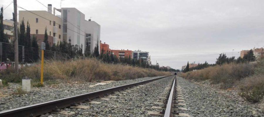 Imagen de archivo: vías de tren.