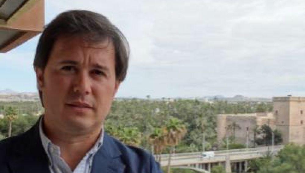 El empresario ilicitano José María San-Matías, partidario de la peatonalización del centro de Elche.
