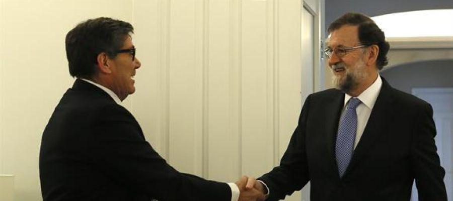 Reunión Rajoy- Aliaga