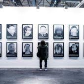 La obra 'Presos Políticos' expuesta en Arco