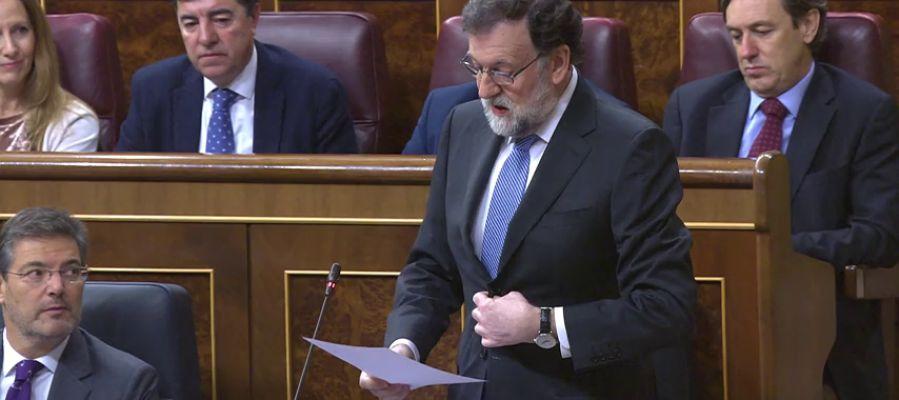 """Rajoy asegura que su intención es """"presentar los Presupuestos Generales del Estado a tiempo para aprobarlos a finales de junio"""""""