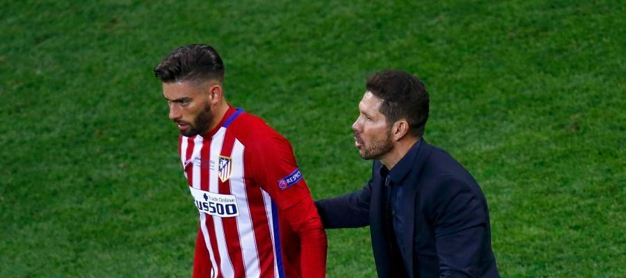 Carrasco y el 'Cholo' Simeone