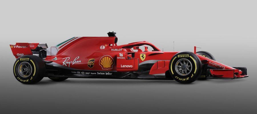 El nuevo Ferrari SF71H