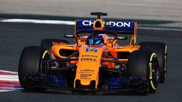 VÍDEO: Fernando Alonso rueda por primera vez con el nuevo McLaren MCL33