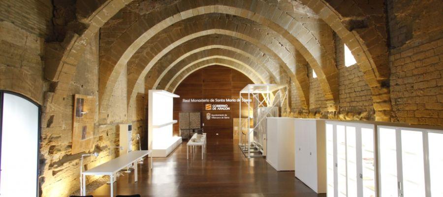 Sala exposiciones Monasterio de Sijena
