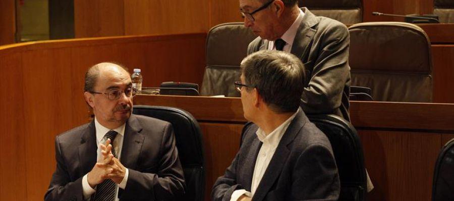El presidente del Gobierno aragonés, Javier Lambán