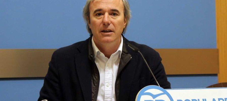 Portavoz del PP en el Ayuntamiento de Zaragoza, Jorge Azcón