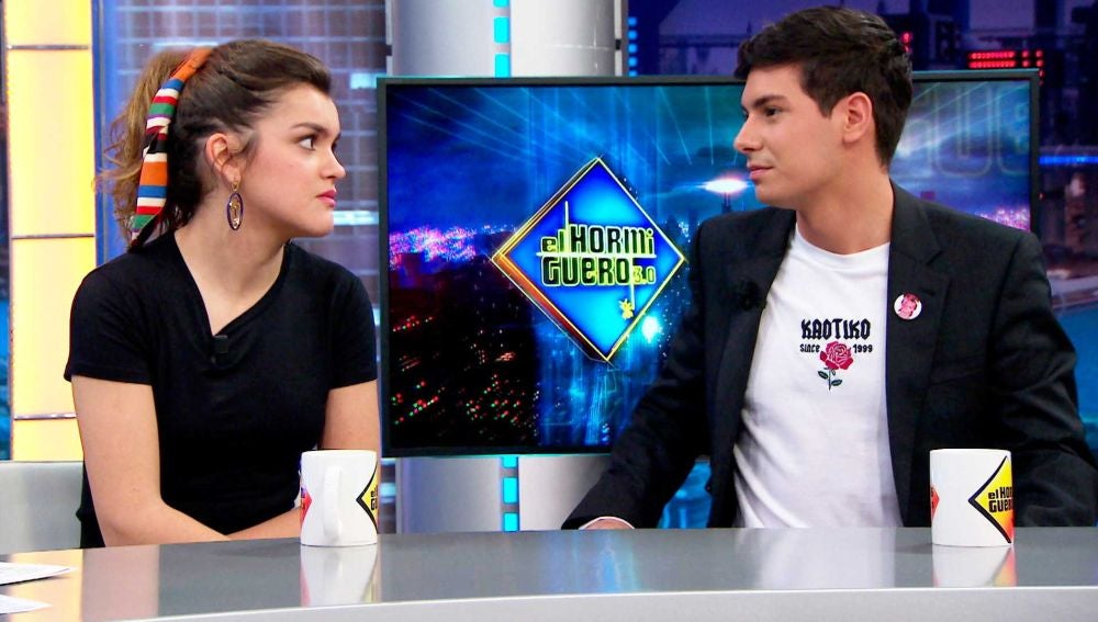 Amaia y Alfred se ofenden en 'El Hormiguero 3.0' por la pregunta de Pablo Motos sobre su historia de amor