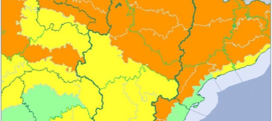Mapa de alertas