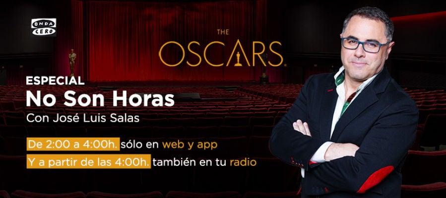 Especial Oscar 2018 en 'No son horas'