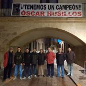 Alcalde de Astudillo, familiares y amigos de Óscar Husillos, hoy en Aquí en la Onda CYL