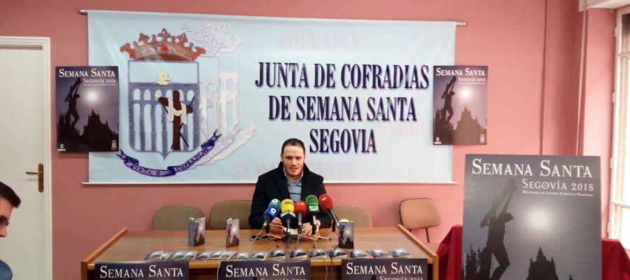 Presentación del programa de la Semana Santa de Segovia