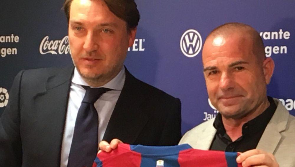 Paco López, nuevo entrenador del Levante