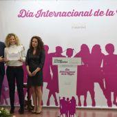 Acto de entrega del Premio de la Igualdad de la Diputación