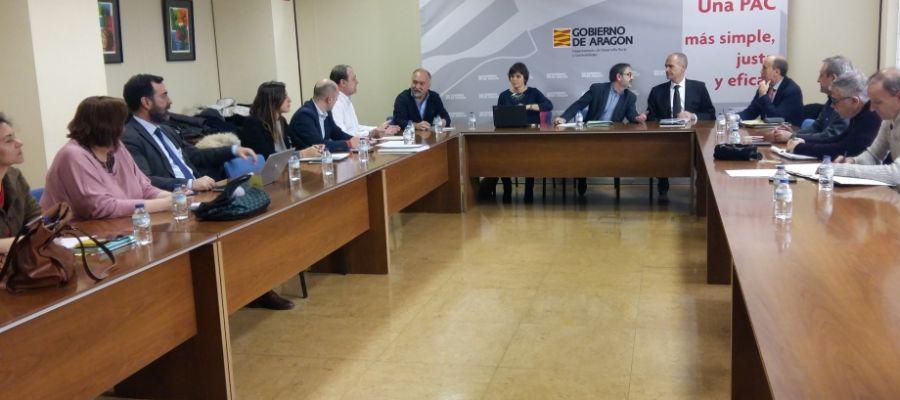 Reunión de la Mesa Técnica del ICA