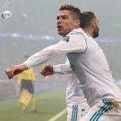 Cristiano Ronaldo en el Parque de los Príncipes