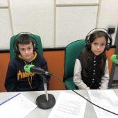 Ismael y Zindy Mar, alumnos del CP Miguel de Cervantes